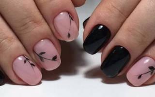 Технология рисования на ногтях